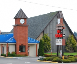 photo of Marysville Clock Tower Self Storage