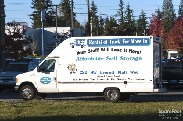 Affordable Self Storage - Everett222 SW Everett Mall Way - Everett, WA - Photo 6