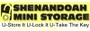 Staunton self storage from Shenandoah Mini Storage Inc