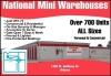 Urbana self storage from National Mini Warehouses